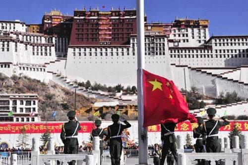 tibet cina bandiera