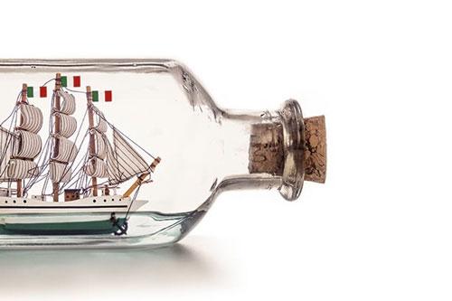 bottiglia italia