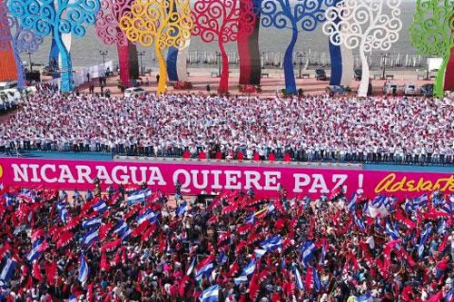 nicaragua quiere paz