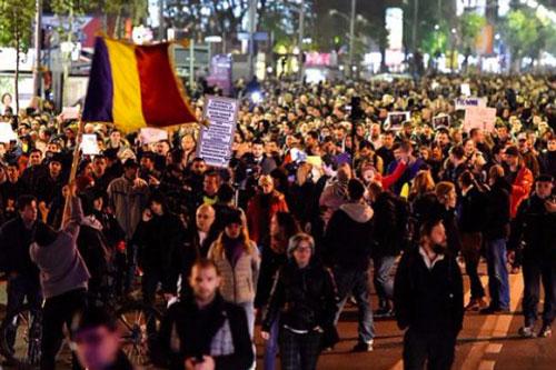 romania proteste corruzione