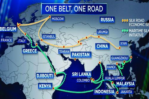 beltandroad mappa