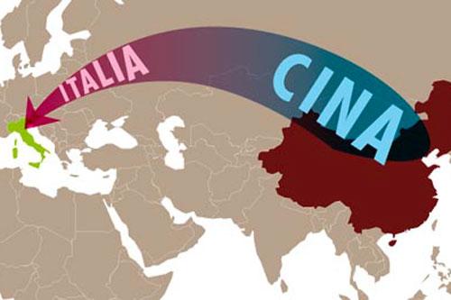 cina italia mappa