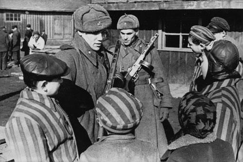 soviets auschwitz