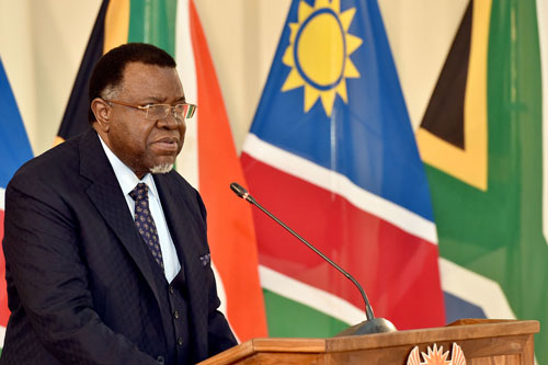 HageGeingob namibia