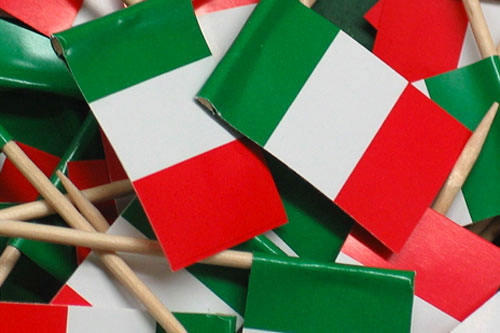 bandierine italia