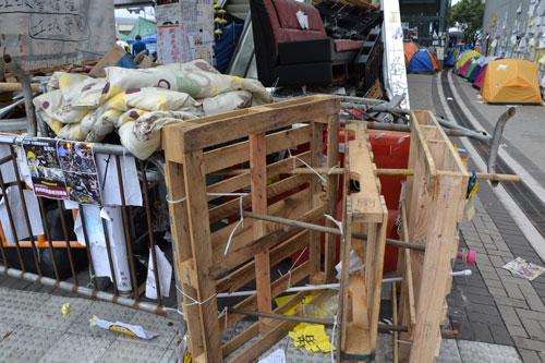 barricade hong kong protest 1202581