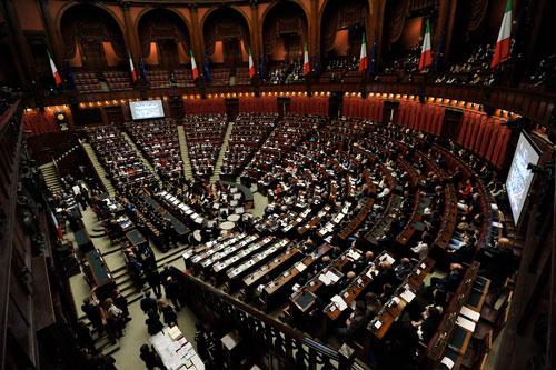 parlamento italiano grand