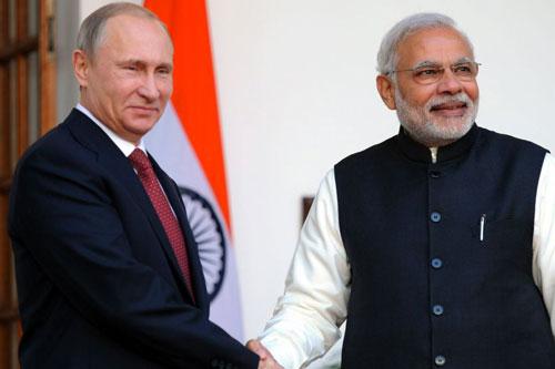 Modi con Putin