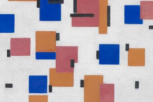 compositie in kleur b