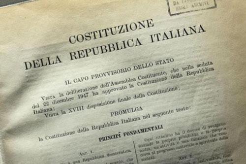costituzione old