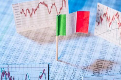 italia crisi grafico