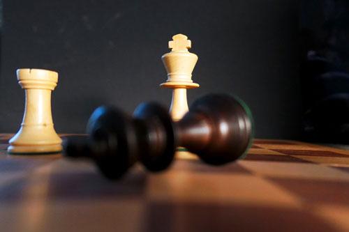 scacchi caduta