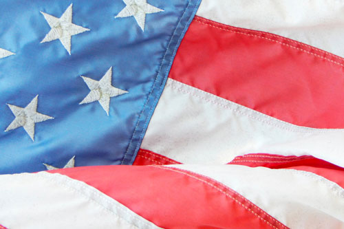 usa bandiera dettaglio