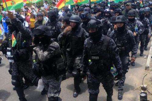 bolivia polizia