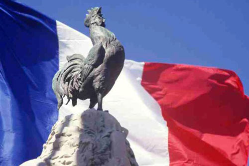 francia gallo simbolo