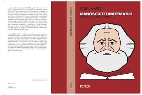Cover Marx manoscritti matematici. 2020