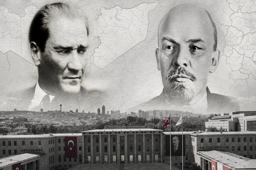 Ataturk lenin